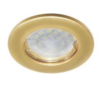Ecola Light MR16 DL90 GU5.3 Светильник встр. плоский Перламутровое золото 30x80 - Олимп-Зеленоград