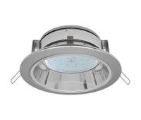 Встраиваемый потолочныйсветильник-спот Ecola GX53 H2R.C рефлектором. Цвет - Хром. - Олимп-Зеленоград