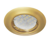 Ecola Light MR16 DL92 GU5.3 Светильник встр. выпуклый Перламутровое золото 30x80 - Олимп-Зеленоград