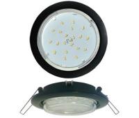 Ecola GX53 5355 Встраиваемый Легкий Черный (светильник) 25x106 - Олимп-Зеленоград