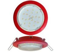 Ecola GX53 5355 Встраиваемый Легкий Красный (светильник) 25x106 - Олимп-Зеленоград