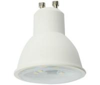 Ecola Reflector GU10  LED  8,0W  220V 4200K прозрачное стекло (композит) 57x50 - Олимп-Зеленоград