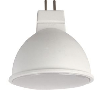 Ecola Light MR16   LED  5,0W 220V GU5.3 4200K матовое стекло (композит) 48x50 - Олимп-Зеленоград