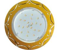 Ecola GX53 H4 DL5384  светильник встраив. без рефл. Звезда матовое Золото/Алюм 20x110 (к+) - Олимп-Зеленоград