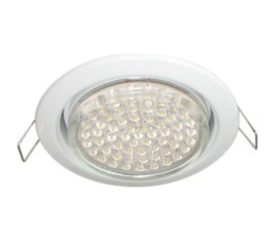 Ecola GX53 H4 светильник встраив. без рефл. white 38х106 - 2 pack - Олимп-Зеленоград