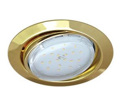 Ecola GX53 FT9073 светильник встраиваемый поворотный золото 40x120 - Олимп-Зеленоград