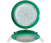 Ecola GX53 5355 Встраиваемый Легкий Зеленый (светильник) 25x106 - Олимп-Зеленоград