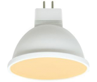 Ecola MR16   LED Premium  8,0W  220V GU5.3 золотистая матовое стекло (композит) 48x50 - Олимп-Зеленоград