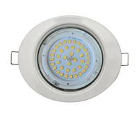 Ecola GX53 FT3238 светильник встр. без рефлектора Эллипс белый 41x126x106 - Олимп-Зеленоград