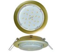 Ecola GX53 5355 Встраиваемый Легкий Золото (светильник) 25x106 - Олимп-Зеленоград