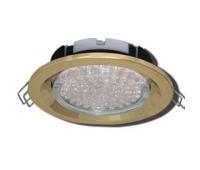 Ecola GX53 FT3225 светильник встраиваемый глубокий лёгкий золото 27x109 - Олимп-Зеленоград