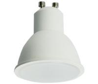 Ecola Reflector GU10  LED  8,0W  220V 2800K матовое стекло (композит) 57x50 - Олимп-Зеленоград