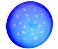 Ecola GX53   LED color  8,0W Tablet 220V Blue Синий матовое стекло (композит) 28x74 - Олимп-Зеленоград