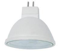 Ecola MR16   LED  5.4W 220V GU5.3  4200K прозрачное стекло (композит) 48x50 - Олимп-Зеленоград