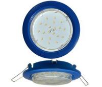 Ecola GX53 5355 Встраиваемый Легкий Синий (светильник) 25x106 - Олимп-Зеленоград