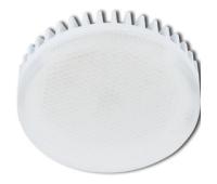 Лампа Ecola GX53 LED Premium 8.5W Tablet 220V 4200K матовое стекло (ребристый алюм. радиатор) 27x75 - Олимп-Зеленоград