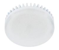Лампа Еcola GX53   LED 10.0W Tablet 220V 6000K матовое стекло (ребристый алюм. радиатор) 27x75 - Олимп-Зеленоград