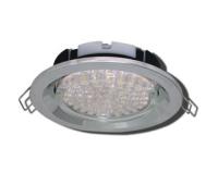 Ecola GX53 FT3225 светильник встраиваемый глубокий лёгкий хром 27x109 - Олимп-Зеленоград