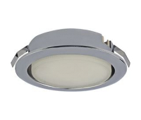 Ecola GX53 DL Светильник Встраиваемый (для твер. пов. и мебели) Хром  28х93 - Олимп-Зеленоград