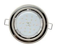 Ecola GX53 H4 светильник встраив. без рефл. 2 цв. жемчуг-черный хром-жемчуг 38х106 - Олимп-Зеленоград