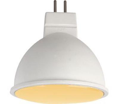 Ecola MR16   LED  7,0W  220V GU5.3 золотистая матовое стекло (композит) 48x50 - Олимп-Зеленоград