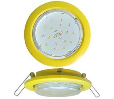 Ecola GX53 5355 Встраиваемый Легкий Желтый (светильник) 25x106 - Олимп-Зеленоград