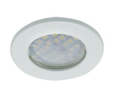 Светильник Ecola Light MR16 DL90 GU5.3 встр. плоский Белый 30x80 - Олимп-Зеленоград