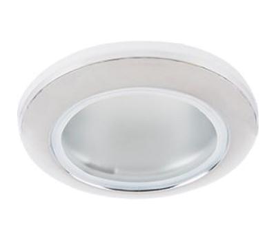 Ecola MR16 DL80 GU5.3 светильник встр. влагозащищенный IP65 хром 32x93 - Олимп-Зеленоград