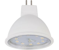 Ecola Light MR16   LED  5,0W 220V GU5.3 4200K прозрачное стекло (композит) 48x50 - Олимп-Зеленоград
