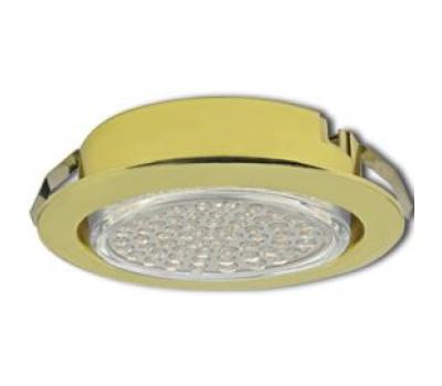 Ecola GX53 DL Светильник Встраиваемый (для тверд.пов. и мебели Золото 26х103 - Олимп-Зеленоград