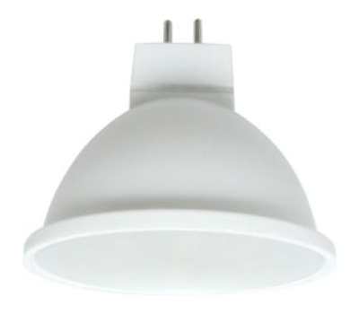 Ecola MR16   LED  5,4W 220V GU5.3  6000K матовое стекло (композит) 52x50 - Олимп-Зеленоград