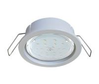 Ecola GX53 PD Светильник Встраиваемый глубокий легкий Белый 31x95 - Олимп-Зеленоград