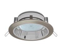 Встраиваемый потолочныйсветильник-спот Ecola GX53 H2R.C рефлектором. Сатин-Хром. - Олимп-Зеленоград