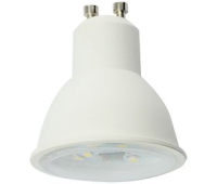 Ecola Reflector GU10  LED  8,0W  220V 2800K прозрачное стекло (композит) 57x50 - Олимп-Зеленоград