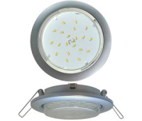 Ecola GX53 5355 Встраиваемый Легкий Серебро (светильник) 25x106 - Олимп-Зеленоград
