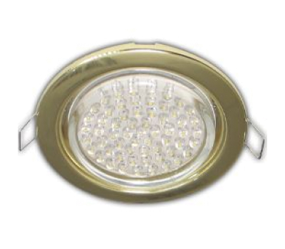 Ecola GX53 H4 Downlight without reflector_gold (светильник) 38x106 - 10 pack(0мб/2/3/4) - Олимп-Зеленоград