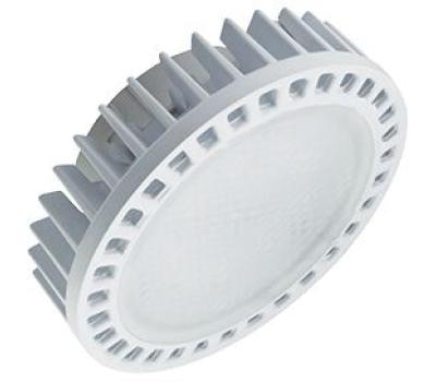 Ecola GX53   LED Premium 15,0W Tablet 220V 4200K матовое стекло (фронтальный алюм. радиатор) 27x75 - Олимп-Зеленоград