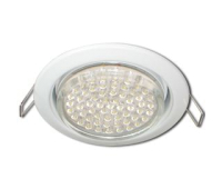 Ecola GX53 H4 Downlight without reflector_white (светильник) 38x106 - 10 pack - Олимп-Зеленоград