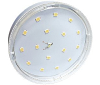 Ecola GX53   LED  8,5W Tablet 220V 4200K прозрачное стекло (композит) 27x75 - Олимп-Зеленоград