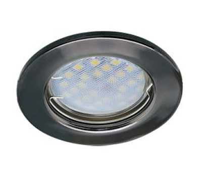 Светильник Ecola Light MR16 DL90 встраиваемый плоский Черный Хром 30x80 - 2 pack - Олимп-Зеленоград