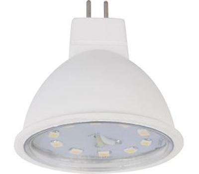 Ecola Light MR16   LED  5,0W 220V GU5.3 2800K прозрачное стекло (композит) 48x50 - Олимп-Зеленоград