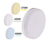 Ecola GX53   LED Premium  7,0W Tablet  220V с изменяемой цв.темп. (2700/4200/6000K) матовое стекло (композит) 27x75 - Олимп-Зеленоград