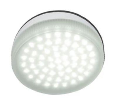 Ecola Light GX53   LED  4.2W Tablet 220V 2800K матовое стекло 30000h - Олимп-Зеленоград