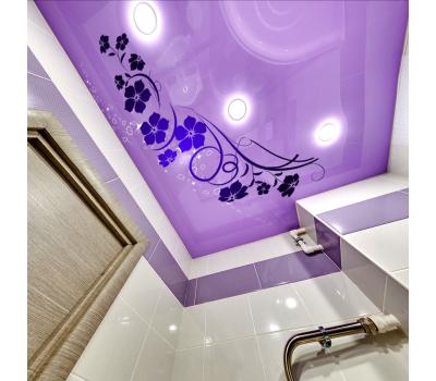 Глянцевый натяжной потолок с фотопечатью 1 м² + монтаж - Олимп-Зеленоград