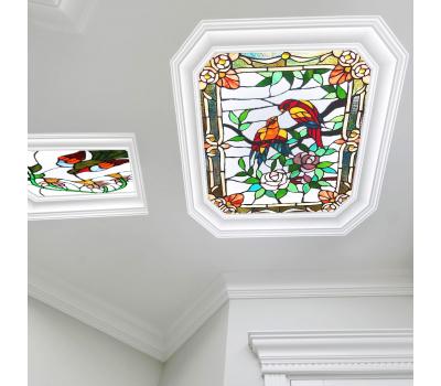 Полупрозрачный натяжной потолок с фотопечатью 1 м² + монтаж - Олимп-Зеленоград