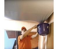 Слив воды с натяжного потолка (демонтаж полотна, просушка от влаги) - Олимп-Зеленоград