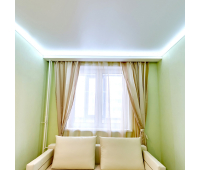 Парящий потолок. Светодиодная лента 7.2 Вт RGB + специальный профиль - 1 метр - Олимп-Зеленоград